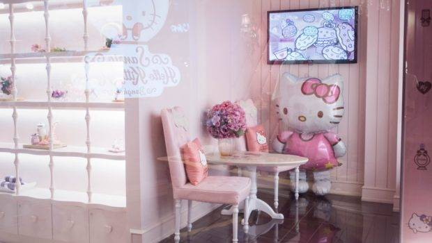 Hello Kitty House Bangkok Thailand World Travel
