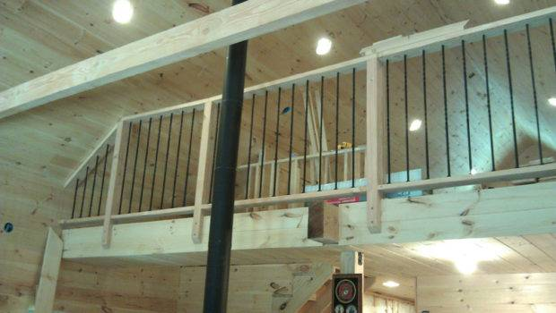 Here Completed Loft Railing Made Came Out Very Nice