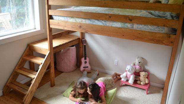 Here Some Easy Plans Very Functional Junior Loft Bed