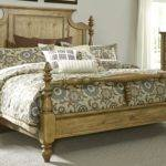 High Country Honey Spice Queen Poster Bed Qps Liberty