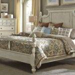 High Country White Queen Poster Bed Qps Liberty