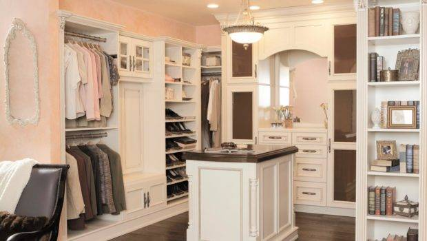 High End Touches Extravagant Closet Looks More Like