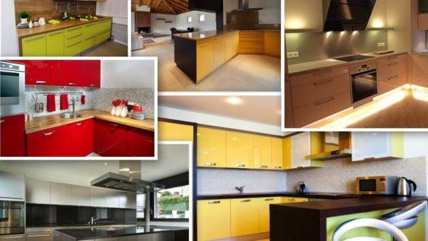 High Gloss Color Lacquered Cabinet Doors Colors Available