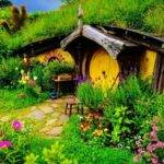 Hobbit Home New Zealand Fairy Gardening Pinterest