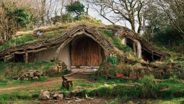 Hobbit House Architecture Real Life