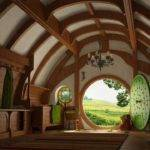 Hobbiton New Zealand Lovely Place Hobbit Houses