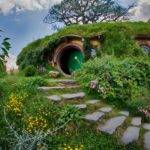 Hobbiton Real Hobbit Village Matamata New Zealand Places