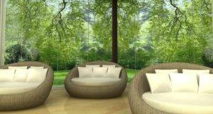 Holistic Health Retreat Meditation Room Design