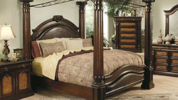 Hollywood Home Monte Carlo Canopy Bed Commerce