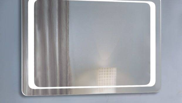 Homcom Bathroom Led Illuminated Mirror