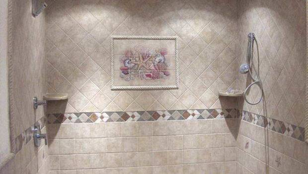 Home Bathroom Tile Shower Walls Ideas