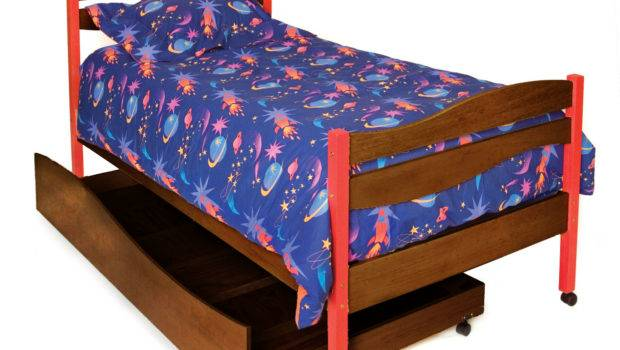 Home Children Beds Star Rocket Twin Bed Trundle Box Set