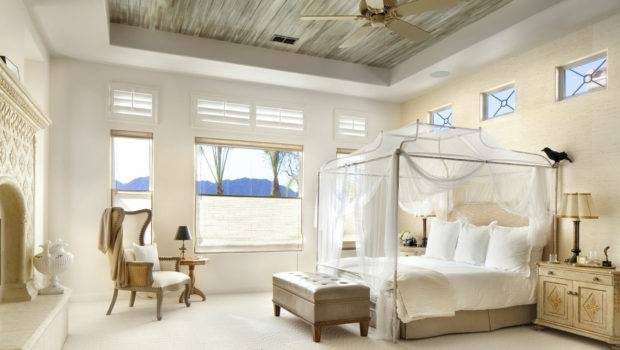 Home Decor Luxury Bedrooms Flaunting Decorative Canopy Beds