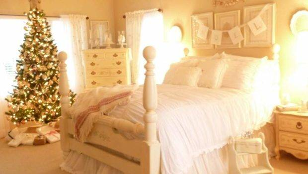 Home Decorate Ideas Christmas Bedroom Decorating