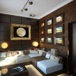 Home Decorated Far More Deep Sumptuously Sophisticated Lounge