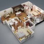 Home Decorating Styles Bedroom Apartment House Plans