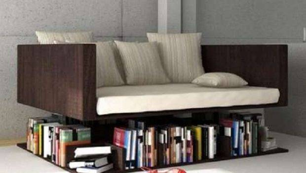 Home Design Cool Bookshelves Brown Wooden Bench Stripped