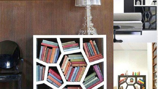 Home Design Cool Bookshelves Glass Lamp Brown Chair Hive