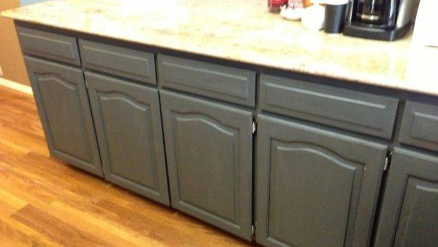 Home Facelift Using Chalk Paint Refinish Kitchen Cabinets