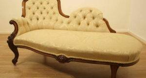 Home Furniture Old Fashioned Chaise Lounge
