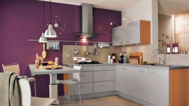 Home Kitchen Popular Paint Colors Using Pink Purple