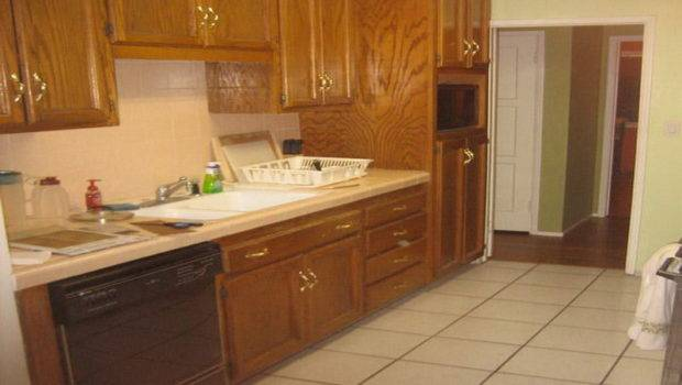 Home Kitchen Redoing Cabinets