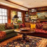 Home Library Decorating Ideas Interior