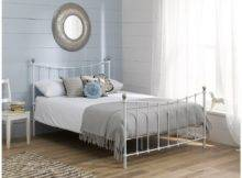 Home Metal Beds Jasmine White Bed Frame