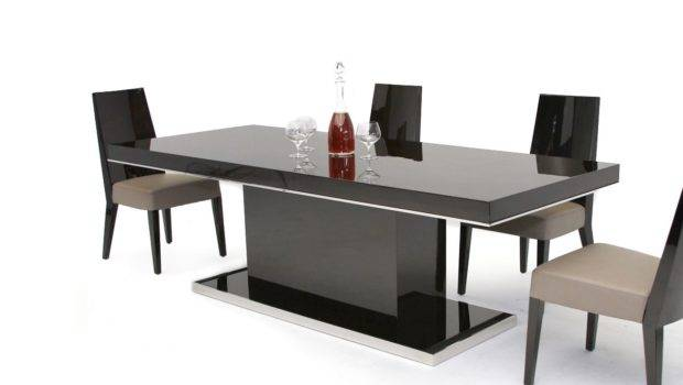 Home Modern Noble Lacquer Dining Table
