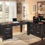 Home Office Benefits Shaped Desks