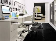 Home Office Decorating Ideas Modern White