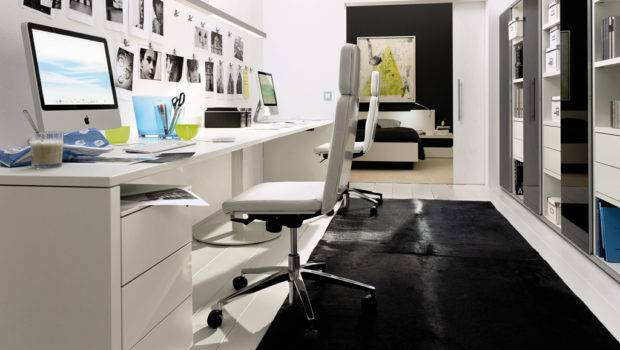 Home Office Designs Hulsta Compact White