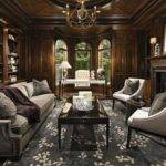 Home Office Library Pinterest