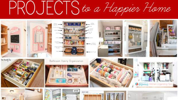 Home Organization Projects Happier