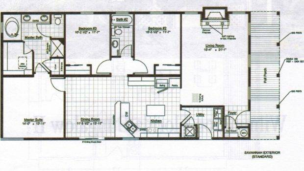 Home Plans Design Bungalows Floor