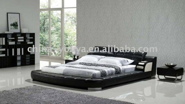 Home Product Categories Leather Bed Stylish