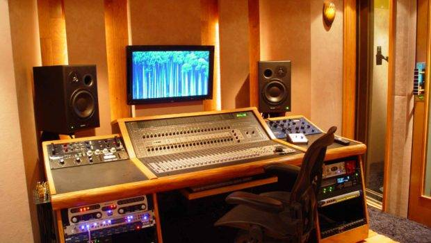 Home Recording Studio Design Ideas