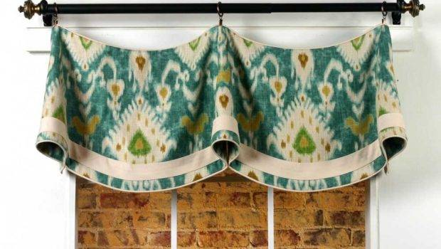 Home Show Curtain Patterns Claudine Valance Sewing Pattern