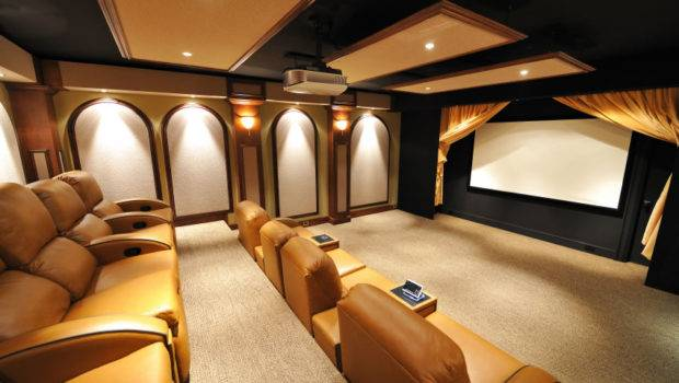 Home Theater Luxurious Bring Most