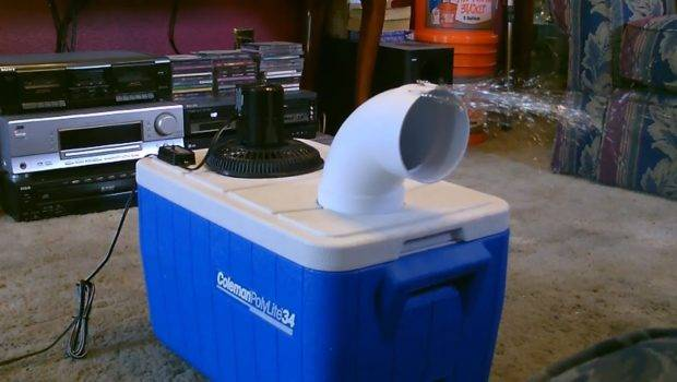 Homemade Air Conditioner Diy Awesome Cooler Easy Instructions