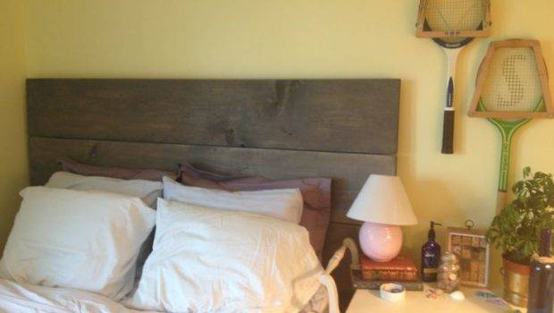 Homemade Headboard Complete Home Pinterest