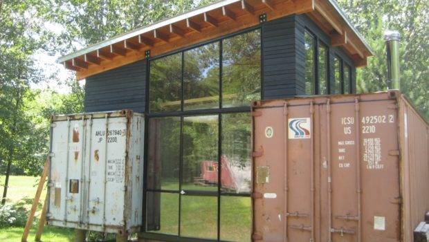 Homes Made Out Storage Containers Container House Design