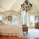 Homes Mag Wrought Iron Canopy Bed Chandelier