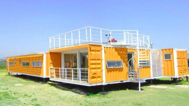 Homes Proyecto Arqtainer Casa Chile Shipping Container Home