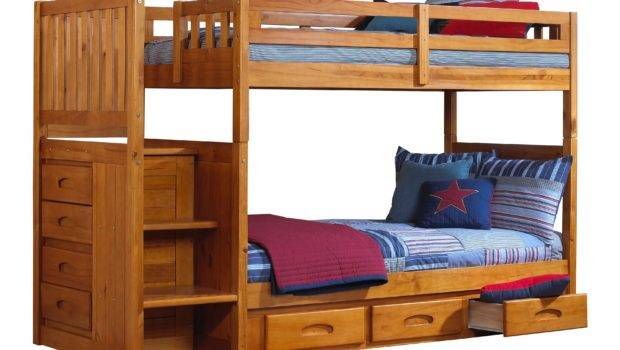 Honey Twin Over Bunk Beds Narrow Colors