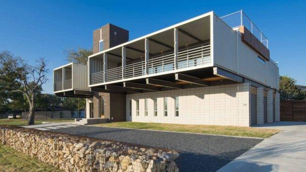 House Built Out Shipping Containers Dwell