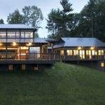 House Day Asian Inspired Modern Hudson River