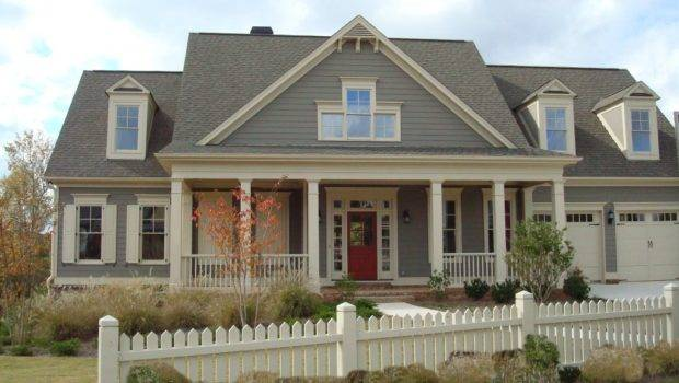 House Exterior Gray Wall Color Pain Colors Your