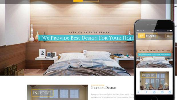 House Interior Furniture Responsive Web Template