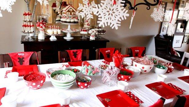 House Making Christmas Party Amazing Decor Game Ideas